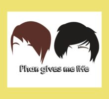 Dan & Phil | Phan gives me life Kids Clothes
