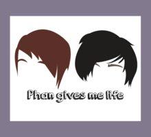 Dan & Phil | Phan gives me life Kids Clothes