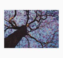 Purple Flower Tree Kids Tee