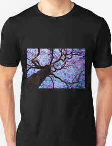 Purple Flower Tree T-Shirt