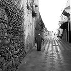The medina, Asilah, Morocco by Fred Shively