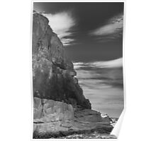 Cliff Face From The Tasman Sea (Freycinet National Park) Poster