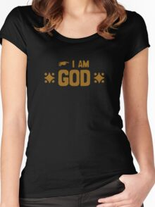 I am God Women's Fitted Scoop T-Shirt