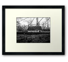Irish cottage Framed Print