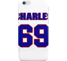 National football player Charles Benson jersey 69 iPhone Case/Skin