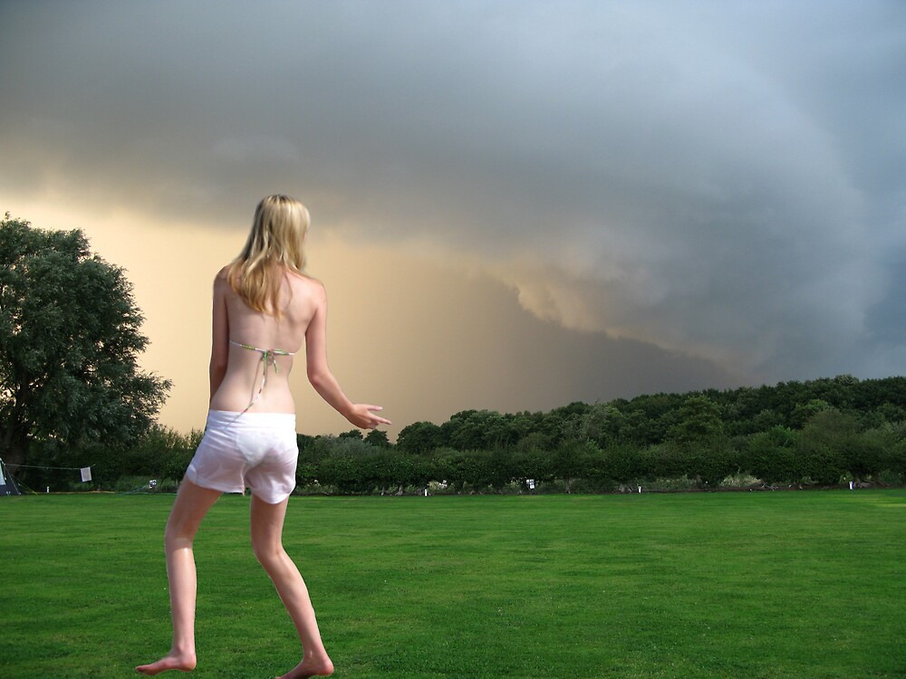 Watching The Storm by Mike Paget