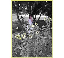 flower among flowers Photographic Print