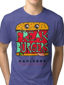 FREAK BURGERS BRAND by RADIOBOY Tri-blend T-Shirt