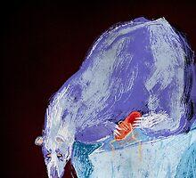 Sadbear by karmabees