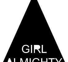 Girl Almighty graphic tee by TwoSparrows