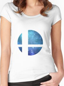 Super Smash Brothers Women's Fitted Scoop T-Shirt