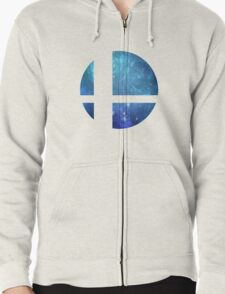 Super Smash Brothers Zipped Hoodie