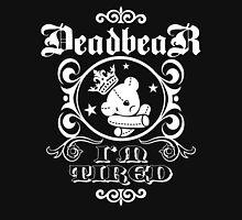 DeadbeaR T-Shirt - 'I'm tired/white' Womens Fitted T-Shirt