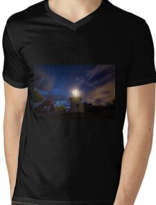 Light Up The Heavens Mens V-Neck T-Shirt
