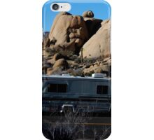 RV at Joshua Tree iPhone Case/Skin