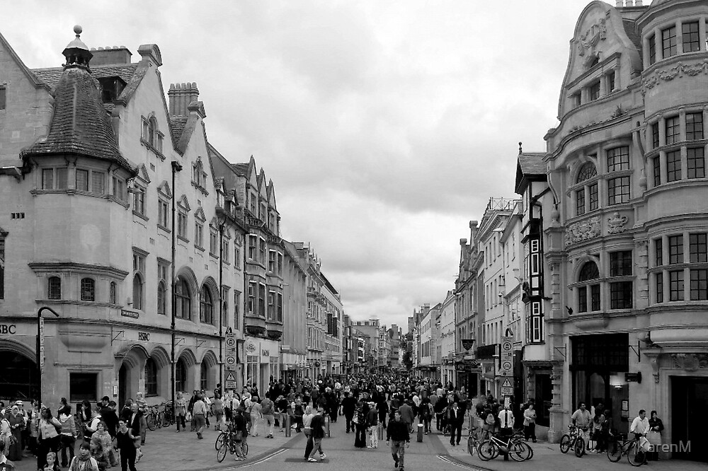 Cornmarket Street, Oxford by KarenM
