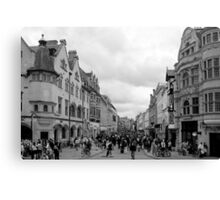 Cornmarket Street, Oxford Canvas Print
