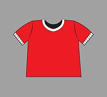 A RED SHIRT t-shirt tee by jazzydevil