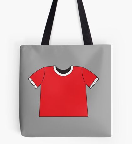 A RED SHIRT t-shirt tee Tote Bag