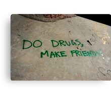 do drugs Canvas Print