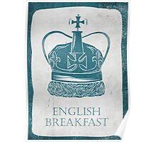 English Breakfast Tea Poster