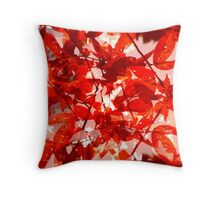 A Moment of Red Throw Pillow