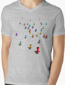 (You Are Here) Mens V-Neck T-Shirt