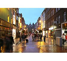 dublin rush Photographic Print