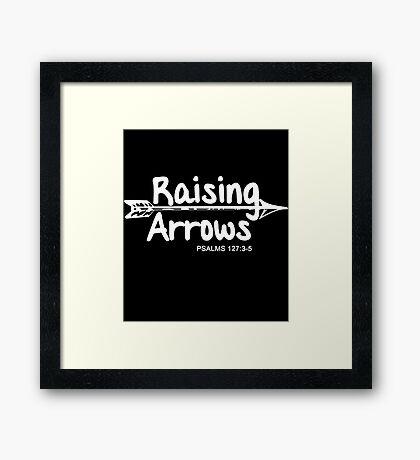 Raising Arrows Framed Print