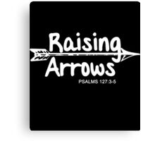 Raising Arrows Canvas Print