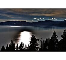 Moonlight on the Lake Photographic Print