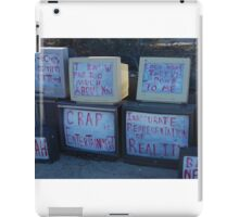 real reality tv iPad Case/Skin