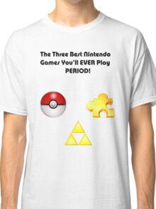 Nintendo's Best Three Games Classic T-Shirt