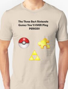 Nintendo's Best Three Games T-Shirt