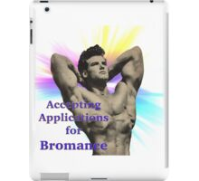 application for bromance iPad Case/Skin