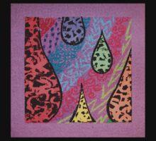 purple texture Kids Clothes