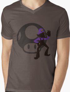 Waluigi - Sunset Shores Mens V-Neck T-Shirt