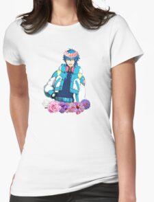 Precious Flower Child Womens Fitted T-Shirt