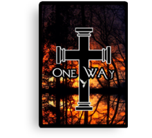 One Way 3 Canvas Print
