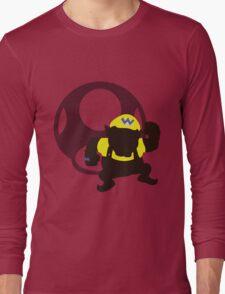 Wario (Mario) - Sunset Shores Long Sleeve T-Shirt