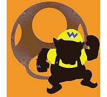 Wario (Mario) - Sunset Shores Photographic Print