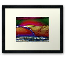 Rainbow Universe -Available In Art Prints-Mugs,Cases,Duvets,T Shirts,Stickers,etc Framed Print