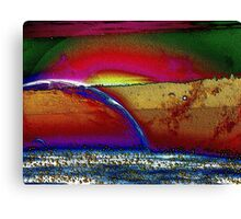 Rainbow Universe -Available In Art Prints-Mugs,Cases,Duvets,T Shirts,Stickers,etc Canvas Print