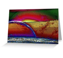 Rainbow Universe -Available In Art Prints-Mugs,Cases,Duvets,T Shirts,Stickers,etc Greeting Card