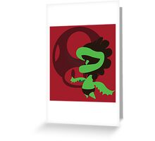 Petey Piranha - Sunset Shores Greeting Card