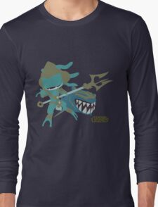 LoL | Minimalist Atlantean Fizz Long Sleeve T-Shirt