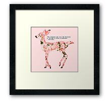 Dear Nature  Framed Print