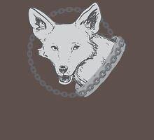 Chain of dogs sigil (Malazan empire fanart) greyscale Womens Fitted T-Shirt