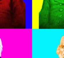 John Quincy Adams Pop Art Sticker