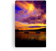 Fantasy - Newport - The HDR Series Canvas Print
